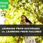 Learning from Successes vs Learning from Mistakes