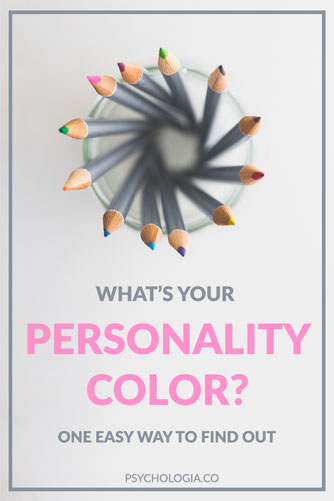 Whats Your Personality Color Psychologia