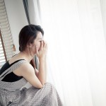 Warning Signs of a Breakup, crying by the window