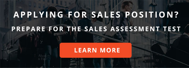 Sales test preparation