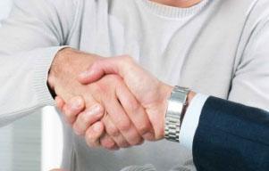 Body language handshake styles