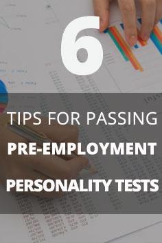 Job tests tips