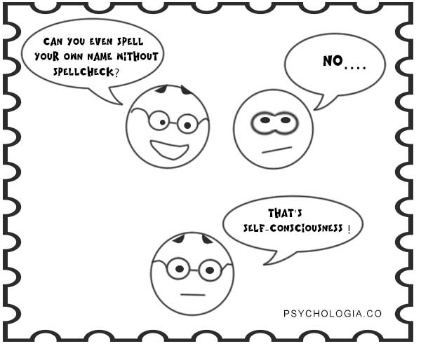 self-consciousness vs. self-awareness