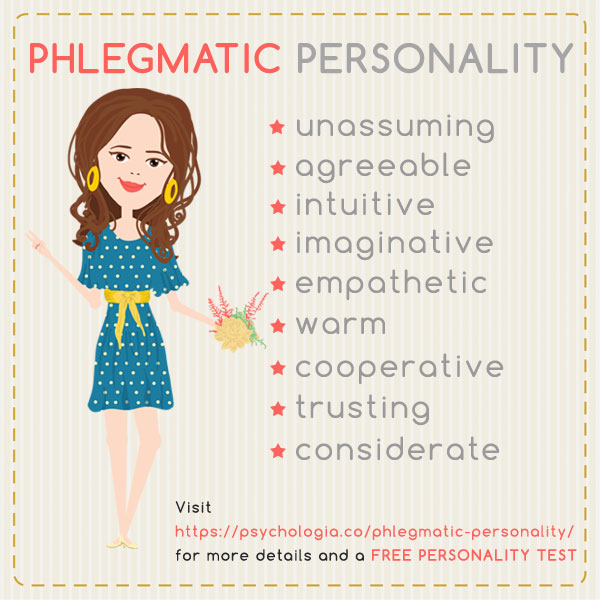 Peaceful phlegmatic personality