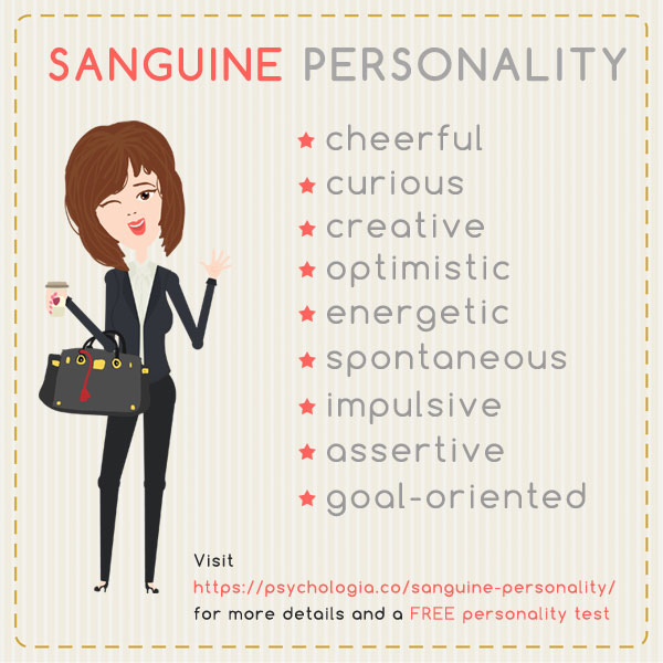 Sanguine personality traits